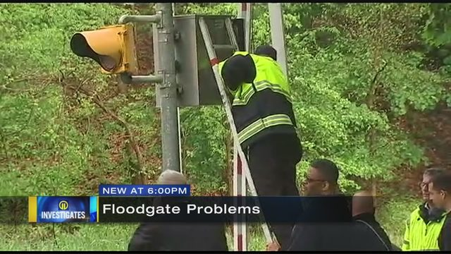 Washington Boulevard floodgates not working properly | WPXI