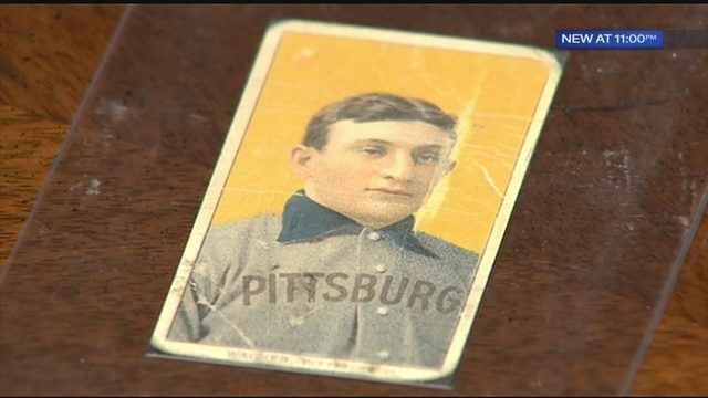 Honus Wagner Baseball Card Sells Privately For 12 Million Wpxi