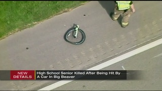 Bicyclist killed when struck by car along Rt. 18