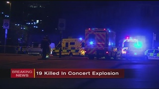 VIDEO: 19 killed, 50 injured in explosion at Ariana Grande concert