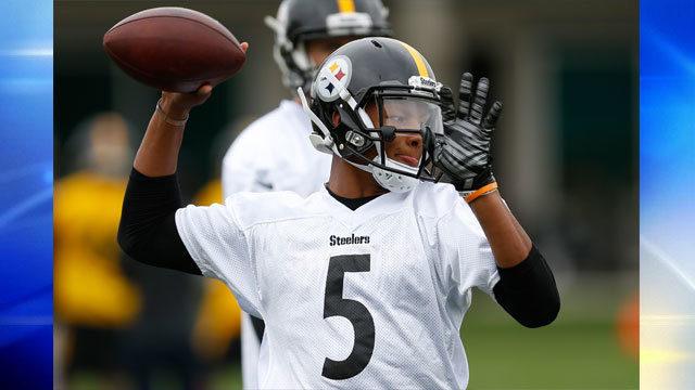 Josuha Dobbs, Steelers OTAs