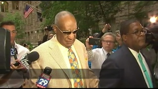 5 jurors chosen in Cosby sex assault trial; selection resumes Tuesday