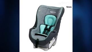 Graco recalls 25,000 child car seats