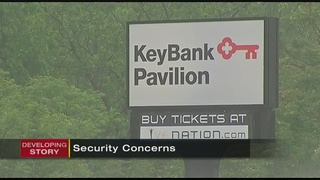 Key Bank Pavilion adds new security measures ahead of Wednesday