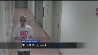 Man believed to have stolen hospital employee