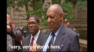 RAW VIDEO: Bill Cosby speaks to media outside Allegheny County Courthouse