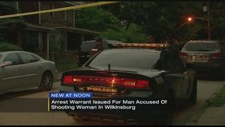Arrest warrant issued in Wilkinsburg shooting