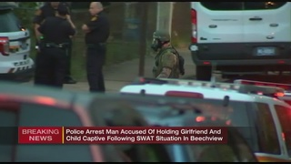 Man in custody after SWAT situation