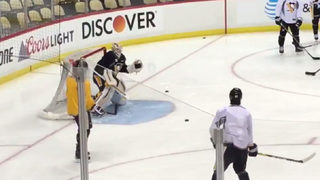 Hornqvist returns to practice, game time decision for Thursday night