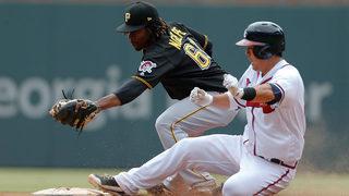 Nova, Frazier lead Pirates to 9-4 win over Braves