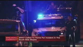 Man, woman arrested in South Side Slopes after SWAT response