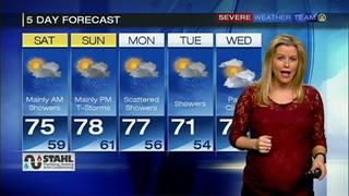 Meteorologist Valerie Smock