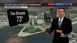 Pens Big Screen forecast for Monday night