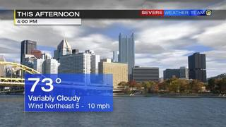 Afternoon forecast for Saturday (5/27/17)