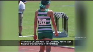 Athletes honor teammate in championship after tragic death