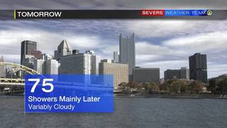 Forecast for Sunday (5/27/17)