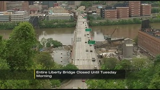 Liberty Bridge closed for Memorial Day Weekend