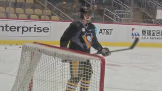 PENS ON 11: Penguins practice at PPG Paints arena ahead of Game 1 vs. Predators