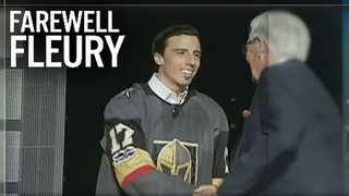 Fleury picked up by Vegas in Wednesday