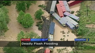 Indiana County hit hard by flooding; 1 man killed
