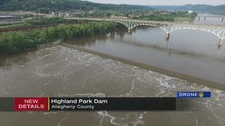 Search suspended for kayakers reported trapped in Highland Park dam