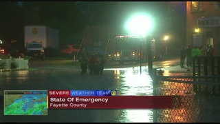 Fayette Co. under state of emergency as water continues to rise