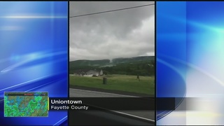 Possible funnel cloud spotted in Uniontown
