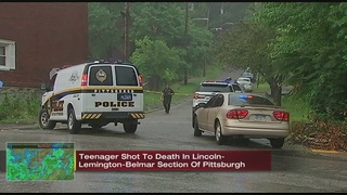 SWAT situation underway after teen shot in Lincoln-Lemington