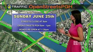 TRAFFIC: Open Streets Pittsburgh (6/23/17)