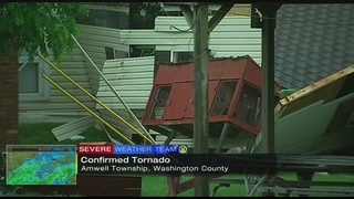 Tornado confirmed in Washington Co., home damaged