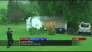 VIDEO: Storm damage in Washington County