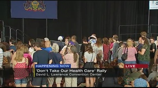 Bernie Sanders to attend health care rally at convention center