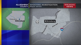 Police investigate shooting in Wilkinsburg