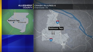 1 critically injured in I-79 car rollover