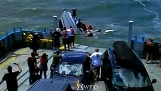 VIDEO: Lake Erie ferry comes to rescue of capsized boaters