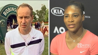 VIDEO: McEnroe says Serena Williams is good for a woman