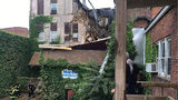 RAW VIDEO: Washington building collapse
