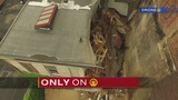 Channel 11 gets firsthand look at collapsed building where woman was trapped