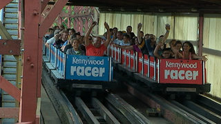 Kennywood celebrates Racer roller coaster