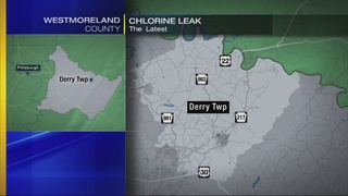 Chlorine leak draws hazmat team to Derry Township