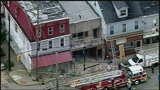 2 injured when building facade collapses in Millvale