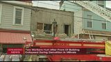 Two people injured when building facade collapses in Millvale