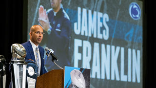 PSU coach Franklin has one eye on present, other on future
