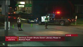 Crash on same road where three women died earlier this week