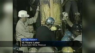 Celebration marking 15th anniversary of Quecreek Mine rescue
