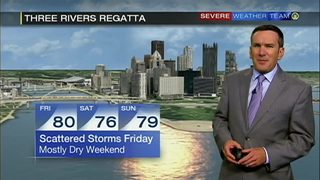 Forecast for Three Rivers Regatta weekend (7/31/17)