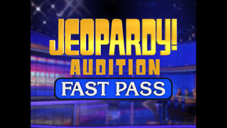Win a Jeopardy! Fast Pass!