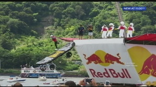 Pilot hurt in accident during Flugtag competition at Three Rivers Regatta