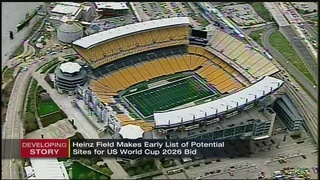 Heinz Field makes early list of potential sites for U.S. World Cup 2026 bid