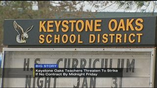 Strike threat announced days before school starts